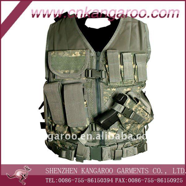 Chaleco tactico camuflaje militar/de combate del ejército chalecos/oliver verde chalecos