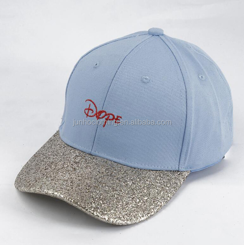 New fashion carnival party foam sequin baseball caps hats men