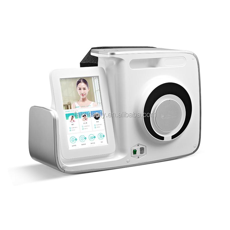 Professional skin analyzer Facial skin Analysis 3D Digital Observer Facial Skin Analyzer with iPad operation system