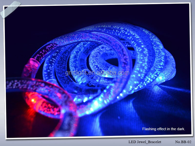 Most beautiful top quality newest LED crystal bracelet