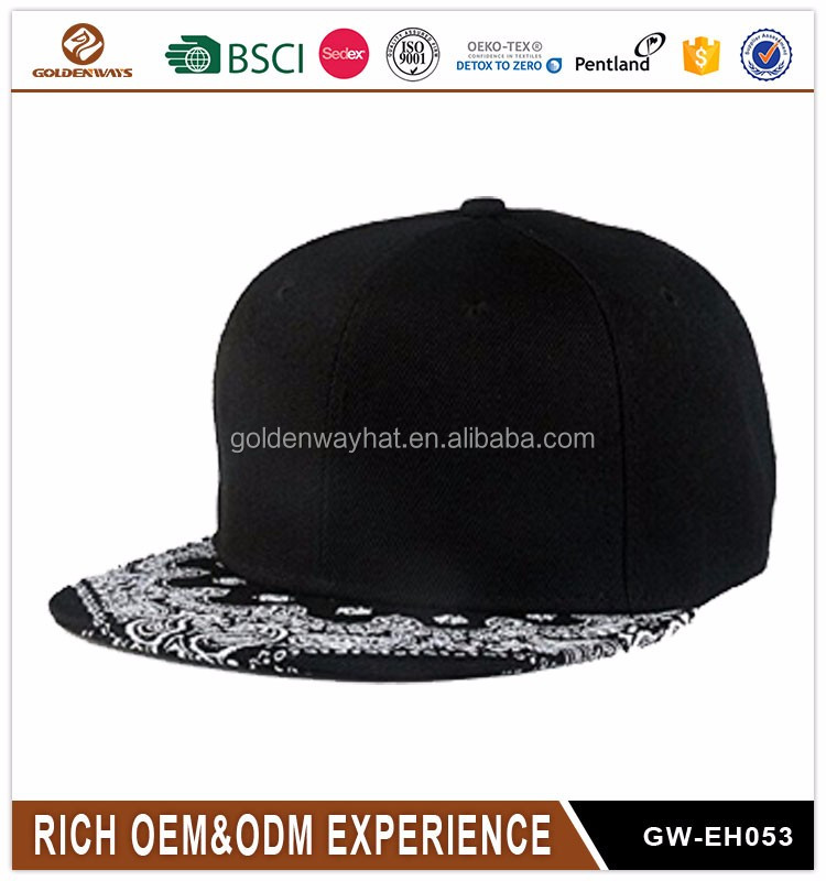 Promotional Snapback cap Custom snapback <strong>hat</strong>