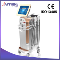 Super Sapphire Crystal Skin Care SHR IPL Machine