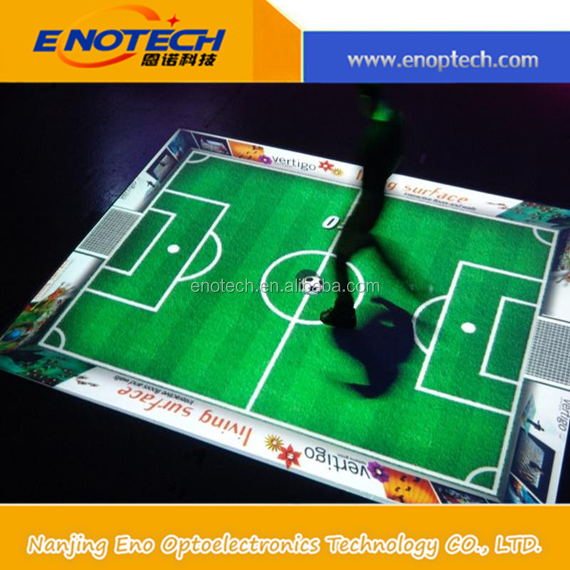 promotion! interactive floor projection advertising for trade show/vans shoes