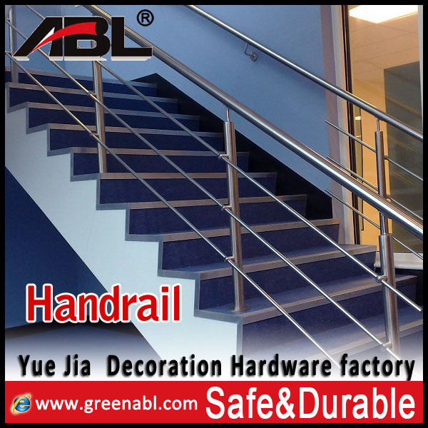 ABL fashion design stainless steel satin finish baluster for railing