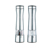 Electric Stainless Steel Salt Pepper Mills with light