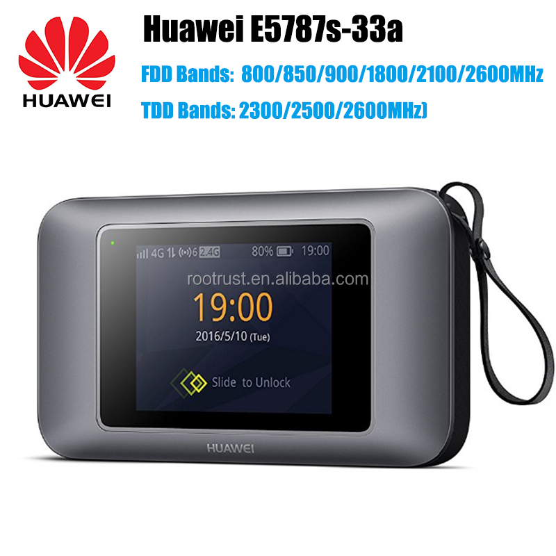 300mbps hotspot Cat6 4g lte wifi router with SIM card slot Huawei E5787