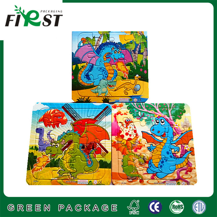 customized world map puzzle/funny printing puzzle/children's paper puzzle