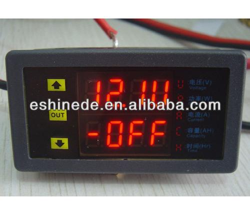 Vam9020 Dual-digital Led Display Vu Meter Voltage Current 20a 90v ...