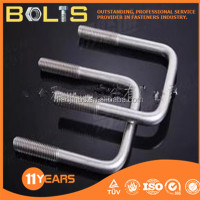 china made u bolt with washer and nut high quality