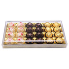 Storage Plastic Packaging Food Candy Gift Box Dessert Cake Cookies Case Luxury Gift Chocolate Box