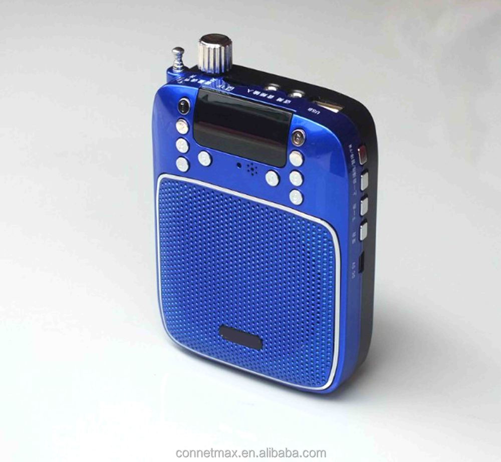 New Portable Fm Radio For 2015 With Digital Recorder/megaphone Mp3 ...