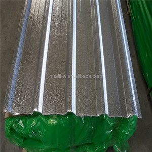 long span corrugated roofing sheet 0.7 mm thick aluminum zinc roofing sheet