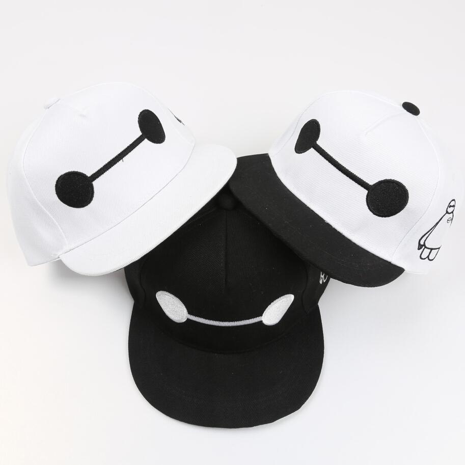 2015 Fashion baby boys girls Big Hero 6 baseball hats children kids cartoon snapback cap casual