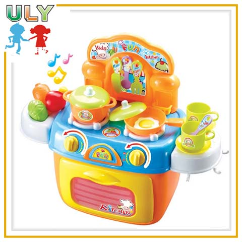 Luxuries kids kitchen set toy for girls with light and music view luxuries kids kitchen set toy for girls with light and music workwithnaturefo