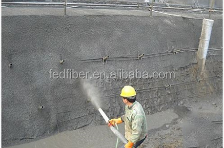 Synthetic PP macro fiber for concrete reinforced