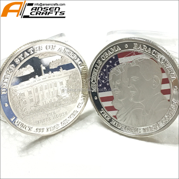 Silver Plating Barack Obama Presidential Challenge Coins Collection - Buy  Challenge Coins,Silver Coin,Obama Coin Product on Alibaba com