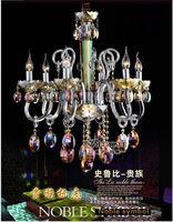 Egyptian Crystal Spiral Chandelier,Spiral Pendant Light,Crystal ...