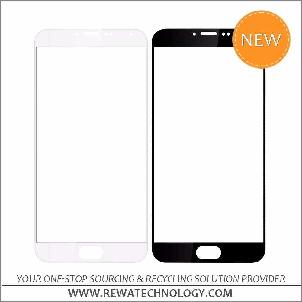 Front Outer Glass Screen for Meizu mx5 Replacement White/Black