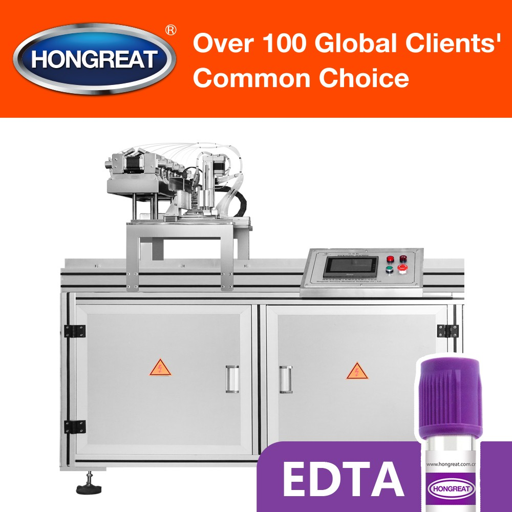 EDTA Spraying Machine for Vacuum Blood Collection Tube