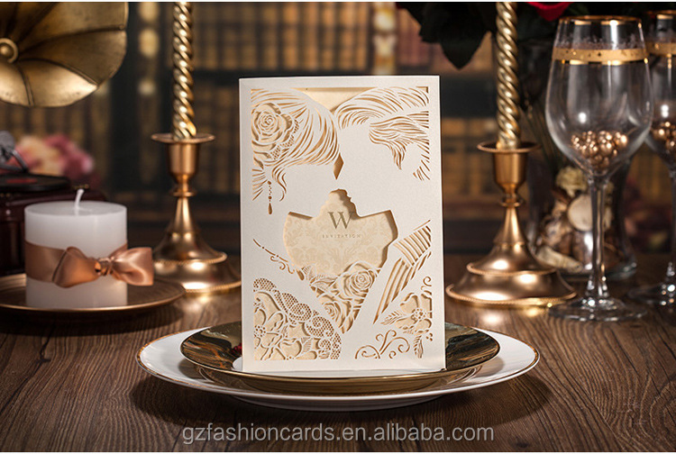 White Luxury Laser Cut Asian Wedding Invitation Cards View Asian – Asian Wedding Invitation Cards