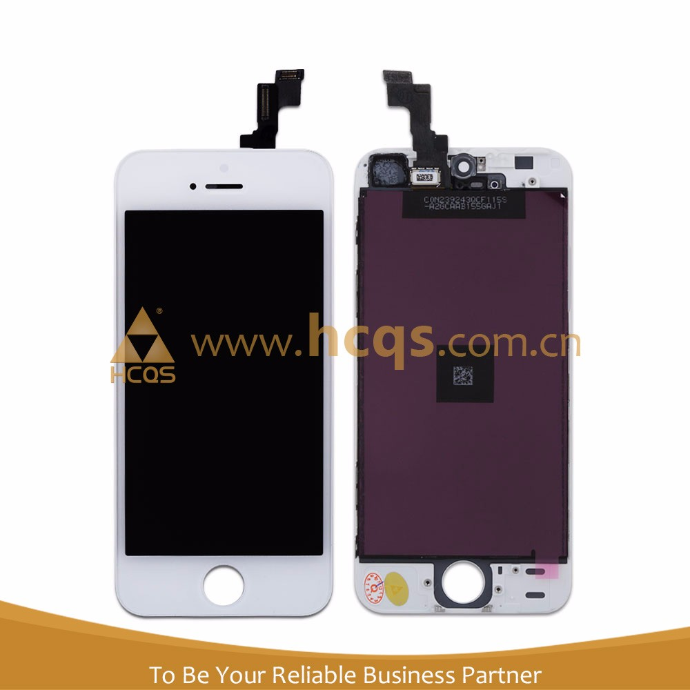 Cell phone LCD digitizer with parts for iphone 5S For iphones 5S sale cheap LCD digitizer IPS for iphone 5S LCD