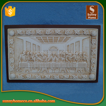 Last Supper Wall Decor resin last supper sculpture outdoor wall art hanging religious