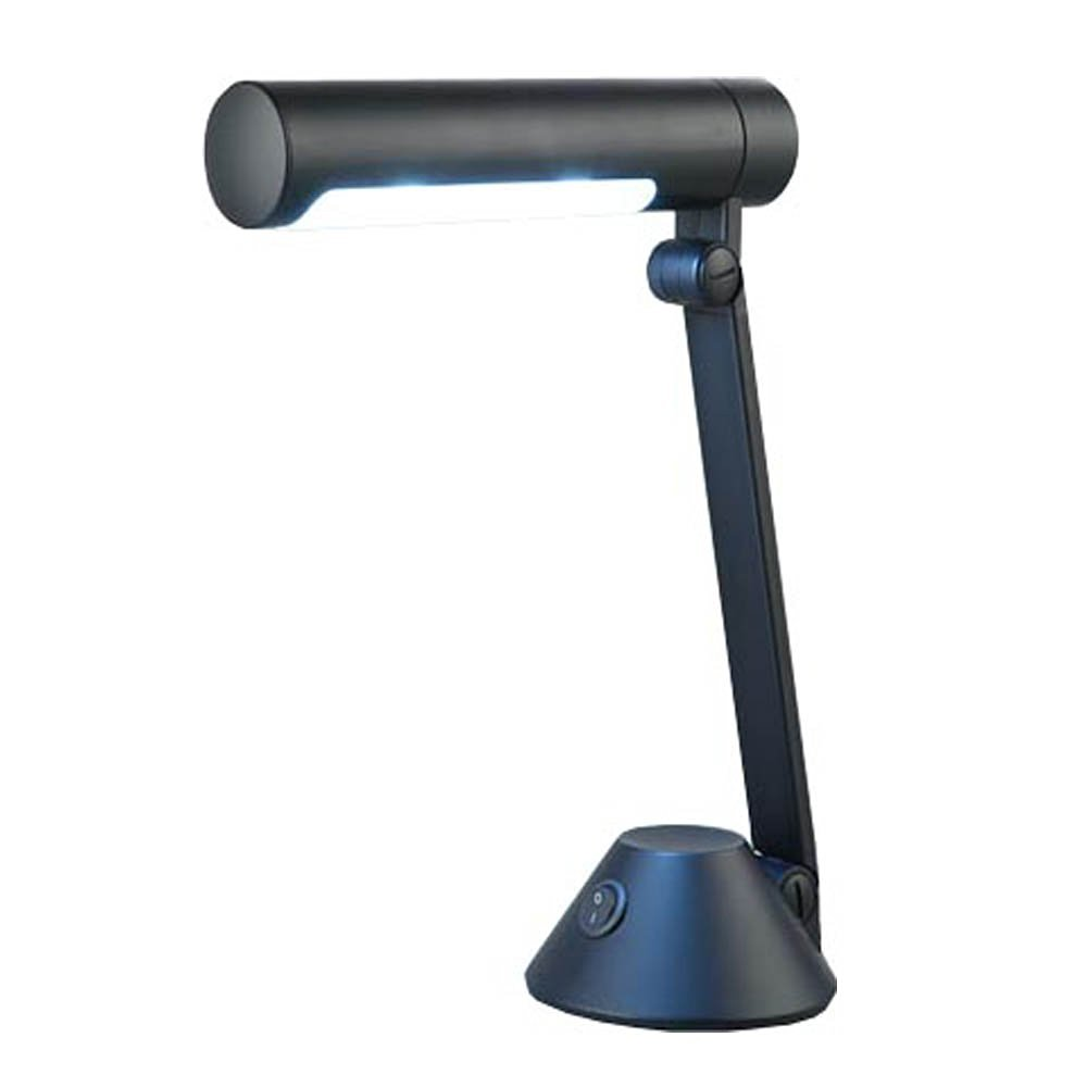 Normande Lighting GP3-219 13-1/2-Inch 13-Watt Daylight-Spectrum Desk Lamp, Black