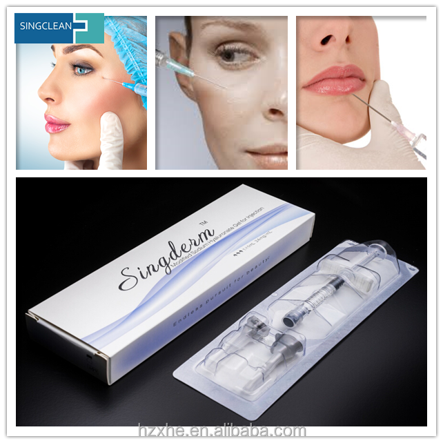 Beauty Cosmetics Hyaluronic Acid Skin Filler Injection Price
