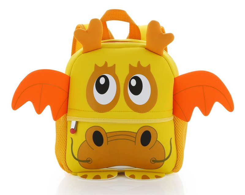 Alibaba golden supplier neoprene kids backpacks cute animals <strong>fashional</strong> style