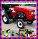 with all kinds of implements 10-15hp mini tractor walking tractor