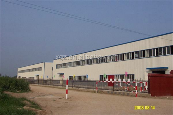 multi-span rigid grid frame steel structure