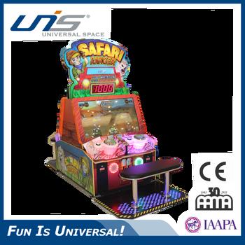 Kids Coin Operated Ticket Redemption Game Machine Indoor Amuse Unis Game  Safari Ranger - Buy Cheap Game Machine For Sale,Cion Operated Game