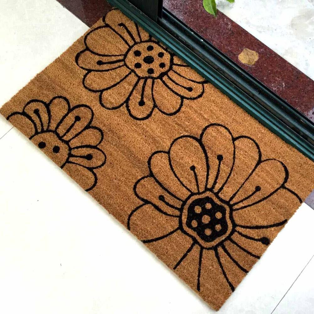 Wholesale Dropship Custom Printed Coir Door Mats Buy