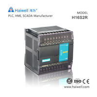 Haiwell H16S2R relay output high speed PLC controller for servo control