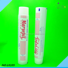 Empty toothpaste tube plastic tube packaging
