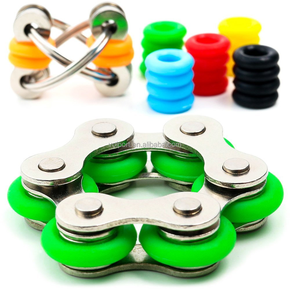New hot chain spinner with Anti-Stress function and metal material