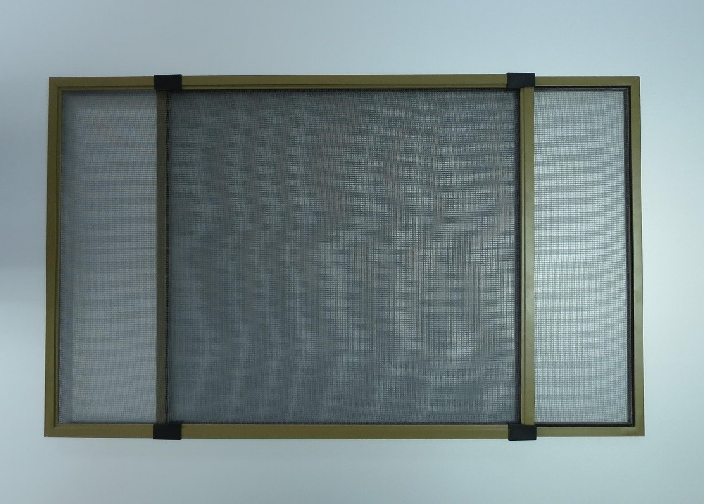 Aluminum screen window with mosquito net ,sliding screen window