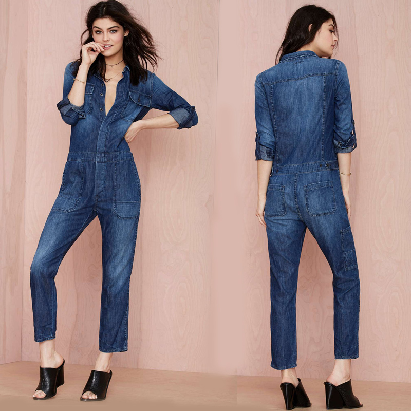 Your womens jumpsuit needs a cool jean jacket, so check out our collection of womens outerwear for your perfect layering pieces. Rompers and jumpsuits are always in style, and with sizes ranging from XS to XL, with tall and petite sizes available, you're sure to find at least one you love.