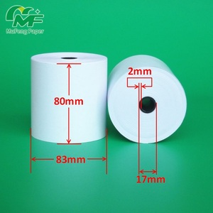 thermal cash register receipt paper till rolls 80x83 mm