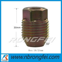 high quality stainless steel cover Zinc Lug Nut for buick
