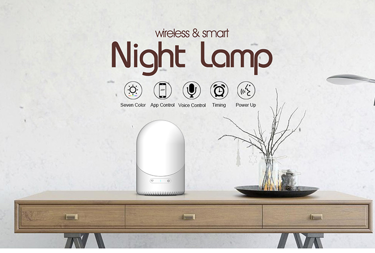지원 안드로이드 및 IOS 앱 smartphone dimmer control wifi smart led 표 lamp smart 밤 빛 대 한 kids