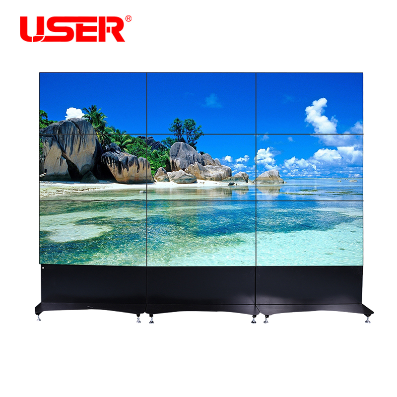 46 Inch 3*3 Video Wall Mount With 5 3mm Splicing Screen Lcd Video Wall/tv  Walls - Buy 3x3 Lcd Video Wall,Lcd Video Wall Price,Tv Wall Product on