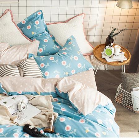 Großhandel Queen-Size-Bettbezug für Verkauf Queen-Bettbezug lila 100% Baumwolle Duvet Cover Queen