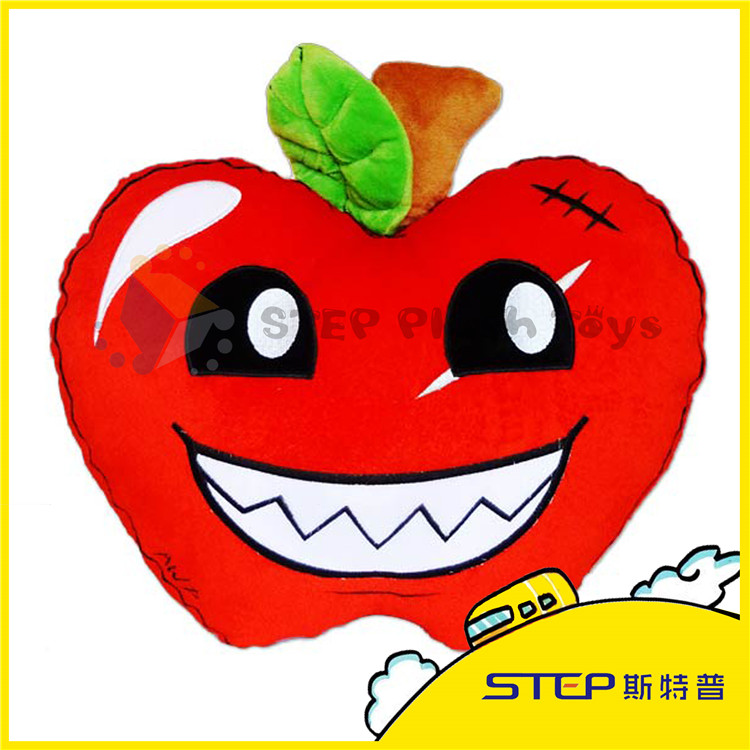 Lovely Apple Shape with Nice Smile Pillow&Cushion for car/sofa back/seat Pillow