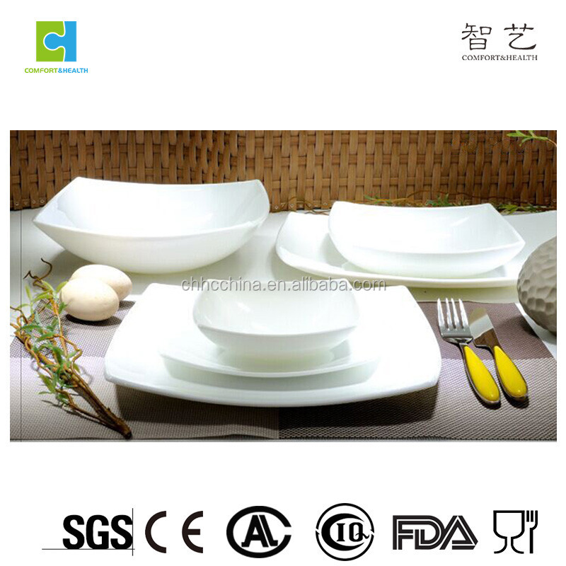 New Design Sharp Square Dinner Set / High Quality Dinnerware