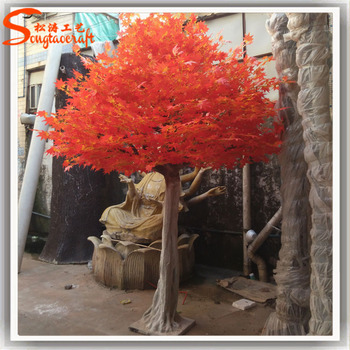 Artificial japanese red maple tree for wedding decoration at outdoor artificial japanese red maple tree for wedding decoration at outdoor and indoor junglespirit Choice Image