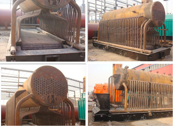 Screw Pipe 3-pass Corrugated Furnace Horizontal Style Coal Fired ...