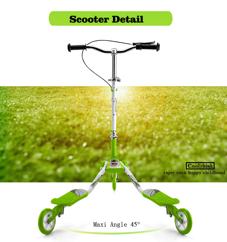 high quality 3 wheel kids speeder scooter for sale