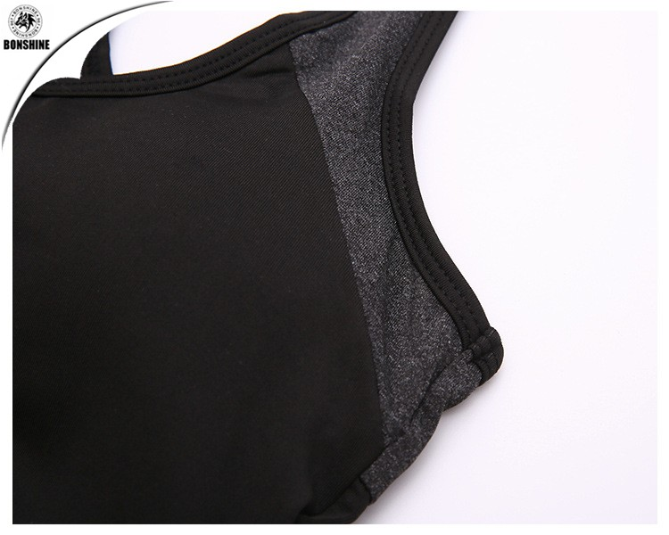 Women's new sports running vest fast dry breathable outdoor fitness yoga vest wholesale