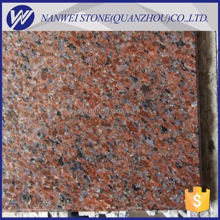 baldosas de piedra de muebles para el hogar natural dakota caoba color rojo piedra de granito